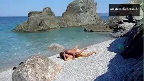 Fac sex pe o plaja virgina in grecia